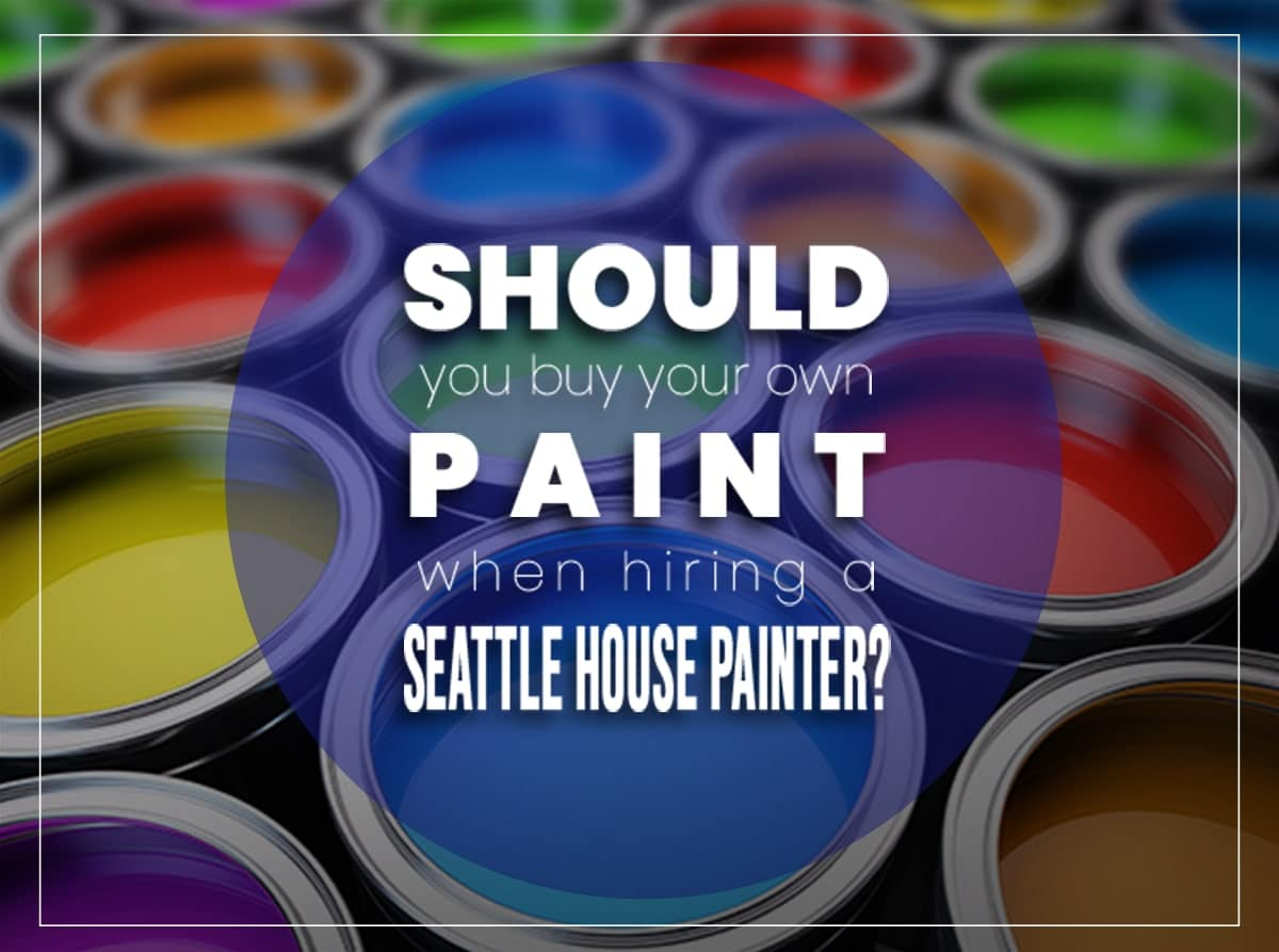 Seattle house painter